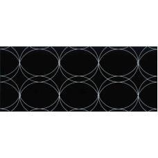 Dekor Cristal Black 25x60 g.I