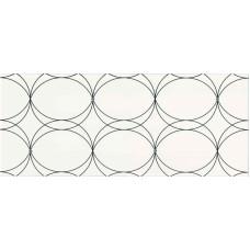 Dekor Cristal White 25x60 g.I