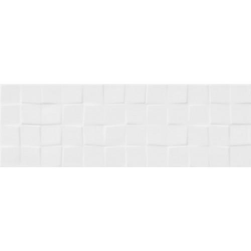 WHITE SATIN STRUCTURE CUBES 19,8X59,8 G.2