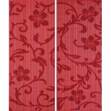 Crypton Glam Red dekor 25x60 (2szt-1kpl)