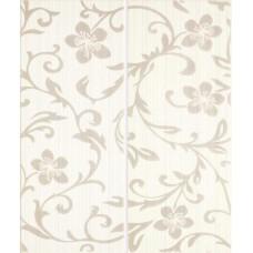 Crypton Glam White dekor 25x60 (2szt-1kpl)