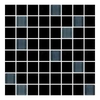 Mozaika odeon  black 25x25 G.1