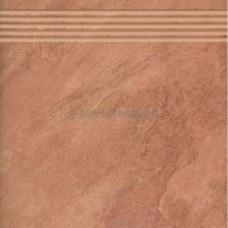 Stopnica Boliwia Czerwona Prosta 33,3x33,3 G.2