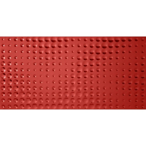 DEKOR 30X60 OPP! HOLLOW RED