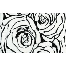 Dekor Rosa Negro 25x40 g.I