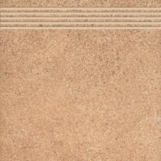 Stopnica Hard Rocks Red  33,3x33,3 G.2